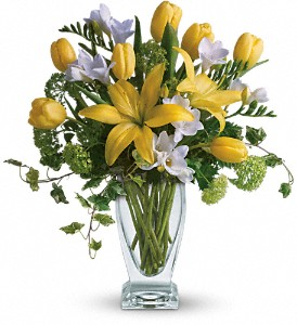 Teleflora's Spring Rhapsody in New York NY, Downtown Florist