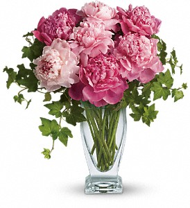 Teleflora's Perfect Peonies in Williamsburg VA, Schmidt's Flowers & Accessories