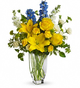 Meet Me in Provence by Teleflora in Northfield MN, Forget-Me-Not Florist