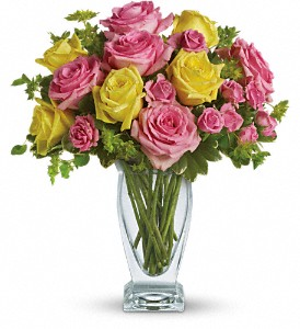 Teleflora's Glorious Day in Carol Stream IL, Fresh & Silk Flowers