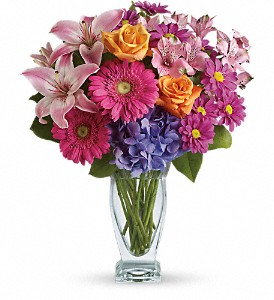 Wondrous Wishes by Teleflora in flower shops MD, Flowers on Base