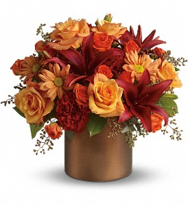 Teleflora's Amazing Autumn in Bellevue WA, Lawrence The Florist