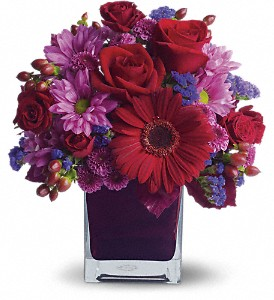 It's My Party by Teleflora in Austintown OH, Crystal Vase Florist