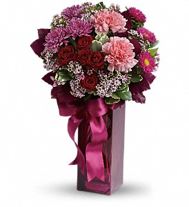 Teleflora's Fall in Love in New Milford PA, Forever Bouquets By Judy