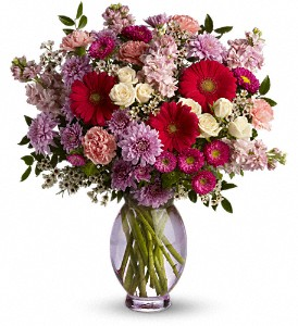 Teleflora's Perfectly Pleasing Pinks in Longmont CO, Longmont Florist, Inc.