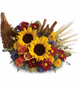 Classic Cornucopia in Fort Myers FL, The Master's Touch Florist
