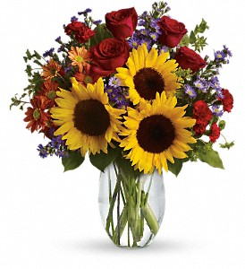 Pure Happiness at The Glidden Campus Florist in DeKalb - Call to order: (815) 758-4455 / (800) 353-8222