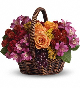 Sending Joy in Oakland MD, Green Acres Flower Basket