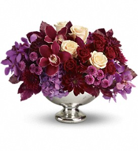 Teleflora's Lush and Lovely in Dublin OH, Red Blossom Flowers & Gifts
