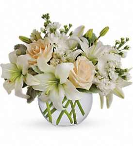 Isle of White in Dubuque IA, New White Florist