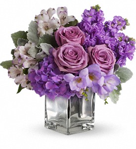 Sweet as Sugar by Teleflora in Grand Rapids MI, Rose Bowl Floral & Gifts