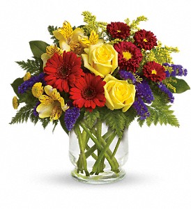 Make a Wish at The Glidden Campus Florist in DeKalb - Call to order: (815) 758-4455 / (800) 353-8222