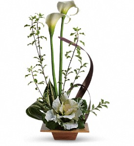 Teleflora's Grand Gesture in Murrells Inlet SC, Callas in the Inlet