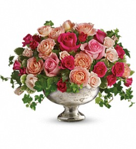 Queen's Court by Teleflora in Grand Rapids MI, Rose Bowl Floral & Gifts