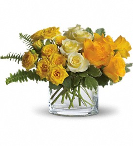 The Sun'll Come Out by Teleflora in East Providence RI, Carousel of Flowers & Gifts