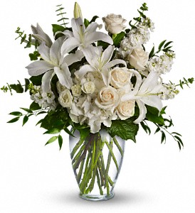 Dreams From the Heart Bouquet in Vevay IN, Edelweiss Floral