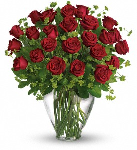 My Perfect Love - Long Stemmed Red Roses in Loganville GA, Loganville Flower Basket