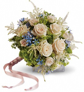 Lovely as a Rose Bouquet in Sandpoint ID, Nieman's Floral & Garden Goods