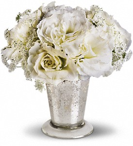 Teleflora's Angel Centerpiece in Oakland MD, Green Acres Flower Basket