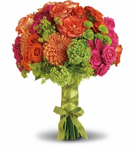 Bright Love Bouquet in Boston MA, Exotic Flowers