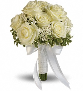 Lacy Rose Bouquet in Bakersfield CA, White Oaks Florist