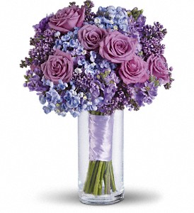 Lavender Heaven Bouquet in Ontario CA, Rogers Flower Shop