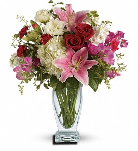 Kensington Gardens by Teleflora in Warsaw KY, Ribbons & Roses Flowers & Gifts