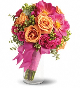 Passionate Embrace Bouquet in Lockport NY, Gould's Flowers, Inc.