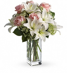 Teleflora's Heavenly and Harmony in Largo FL, Rose Garden Flowers & Gifts, Inc