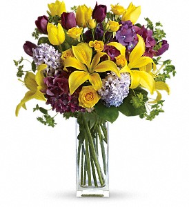 Teleflora's Spring Equinox in Columbia Falls MT, Glacier Wallflower & Gifts