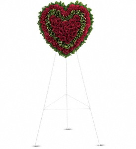 Majestic Heart in Fairfield CT, Hansen's Flower Shop and Greenhouse