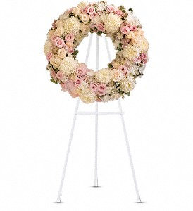 Peace Eternal Wreath in New York NY, Fellan Florists Floral Galleria