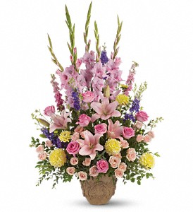 Ever Upward Bouquet by Teleflora in Uhrichsville OH, Twin City Greenhouse & Florist Shoppe