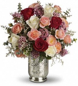 Teleflora's Always Yours Bouquet in Hendersonville NC, Forget-Me-Not Florist