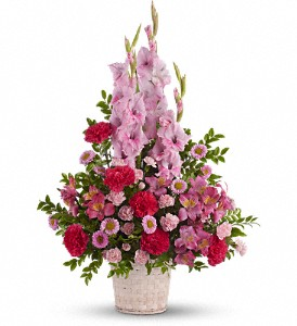 Heavenly Heights Bouquet in Mount Morris MI, June's Floral Company & Fruit Bouquets