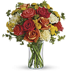 Citrus Kissed in Mount Morris MI, June's Floral Company & Fruit Bouquets