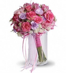 Fairy Rose Bouquet in Lockport NY, Gould's Flowers, Inc.