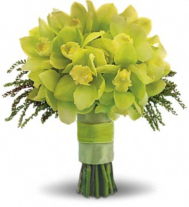 Green Glee Bouquet in Boston MA, Exotic Flowers