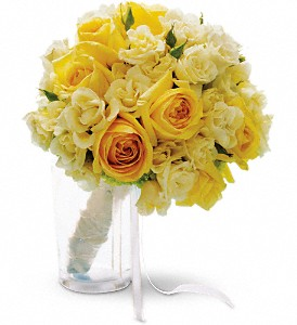 Sweet Sunbeams Bouquet in Boston MA, Exotic Flowers