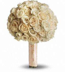 Blush Rose Bouquet in Bakersfield CA, White Oaks Florist