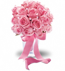 Pink Sorbet Bouquet in Lockport NY, Gould's Flowers, Inc.