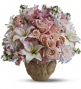 Teleflora's Garden of Memories in Traverse City MI, Cherryland Floral & Gifts, Inc.