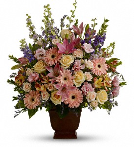 Teleflora's Loving Grace in Houston TX, Village Greenery & Flowers