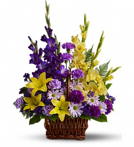 Basket of Memories in San Mateo CA, Dana's Flower Basket<br>650-571-5251