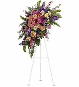 Heavenly Grace Spray in Mount Morris MI, June's Floral Company & Fruit Bouquets