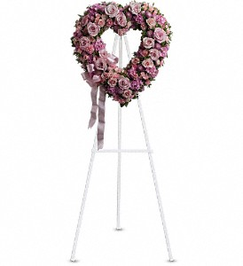 Rose Garden Heart in Newark CA, Angels 24 Hour Flowers<br>510.794.6391