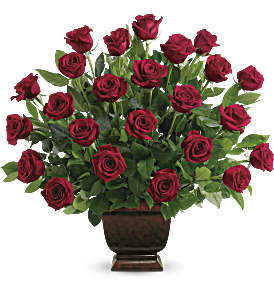 Teleflora's Rose Tribute in Corpus Christi TX, Always In Bloom Florist Gifts