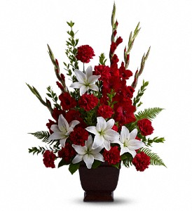 Teleflora's Tender Tribute in McDonough GA, Absolutely and McDonough Flowers & Gifts