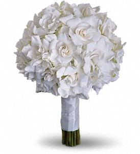 Gardenia and Grace Bouquet in Albany Area NY, A Touch of Country