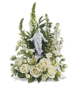 Teleflora's Garden of Serenity Bouquet in Indianapolis IN, Gillespie Florists